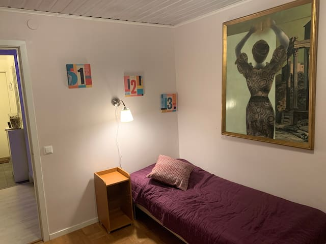 Single room in a nice quiet townhouse