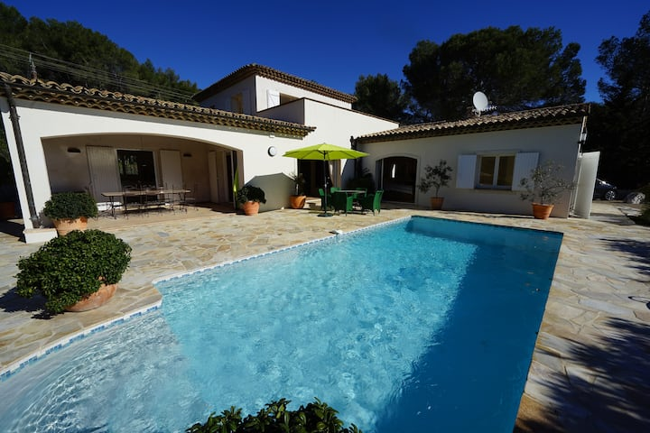""" LA VILLA"" piscine privée, climatisation"