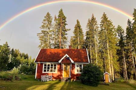 Klimatsmart liten stuga