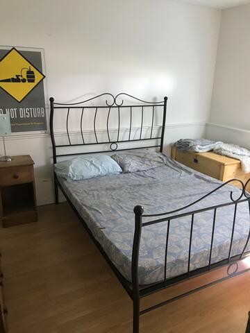 Magnifique chambre accès a tout dans l'appartement
