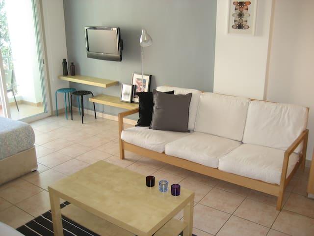 Cozy new Studio apt in Lykavitos/ near city center