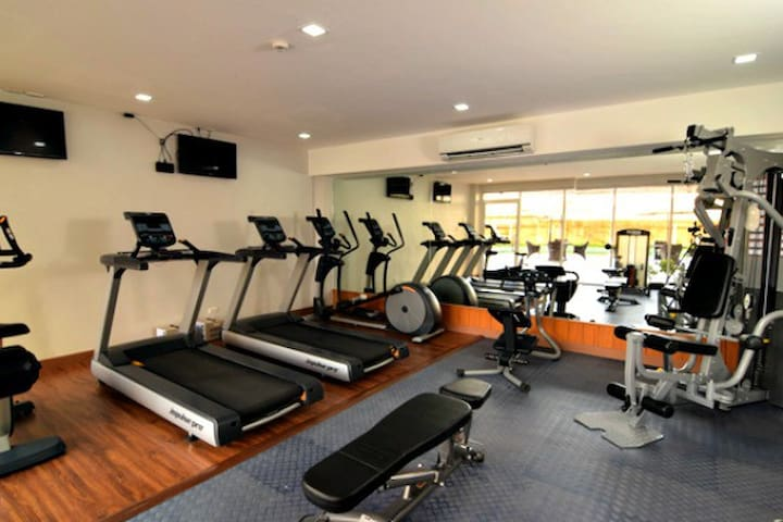 Gym is available with the area .