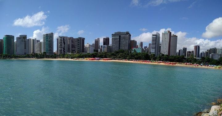 Exquisite Flat na Frente so Mar