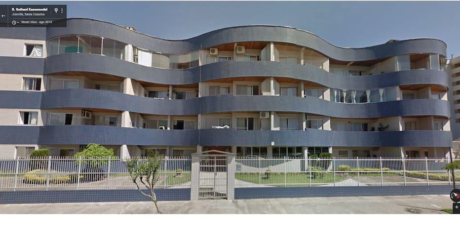 Apartamento Região Central de Joinville - Joinville - Apartemen