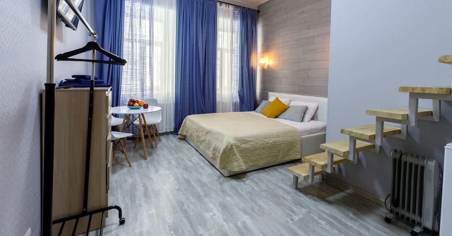 Современные апартаменты на Гончарной