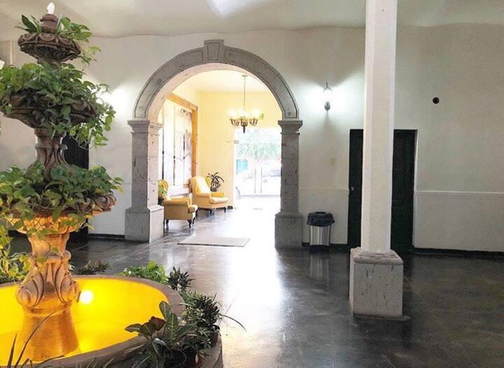 Hotel Montecarlo Los Mochis Desayuno incluido Dob.