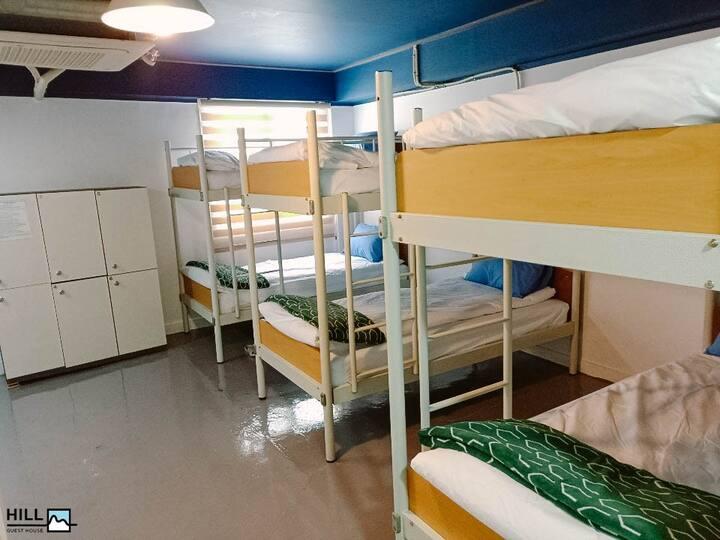 힐 게스트하우스 6인실 Female dormitory (여성전용)