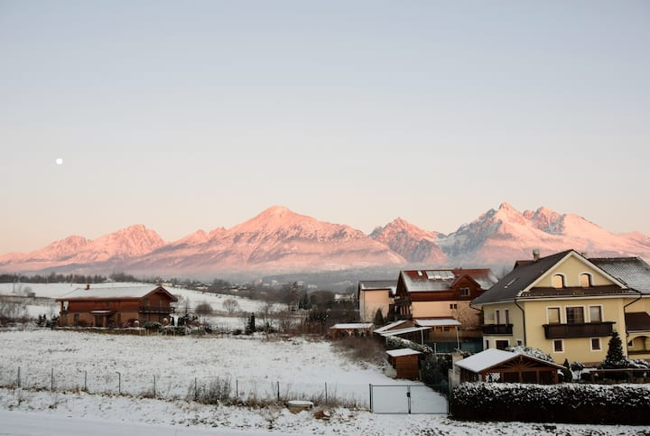 Tatras Apartments 5 min from train station (A)