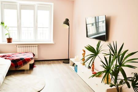 Уютная студия на берегу залива. City center studio - Cheboksary - 公寓