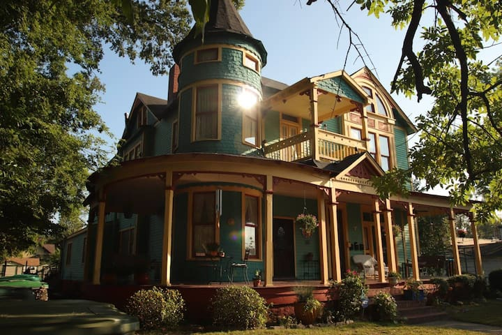 Captain Harris House Victorian Charm
