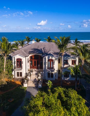 Secluded Oceanfront Estate