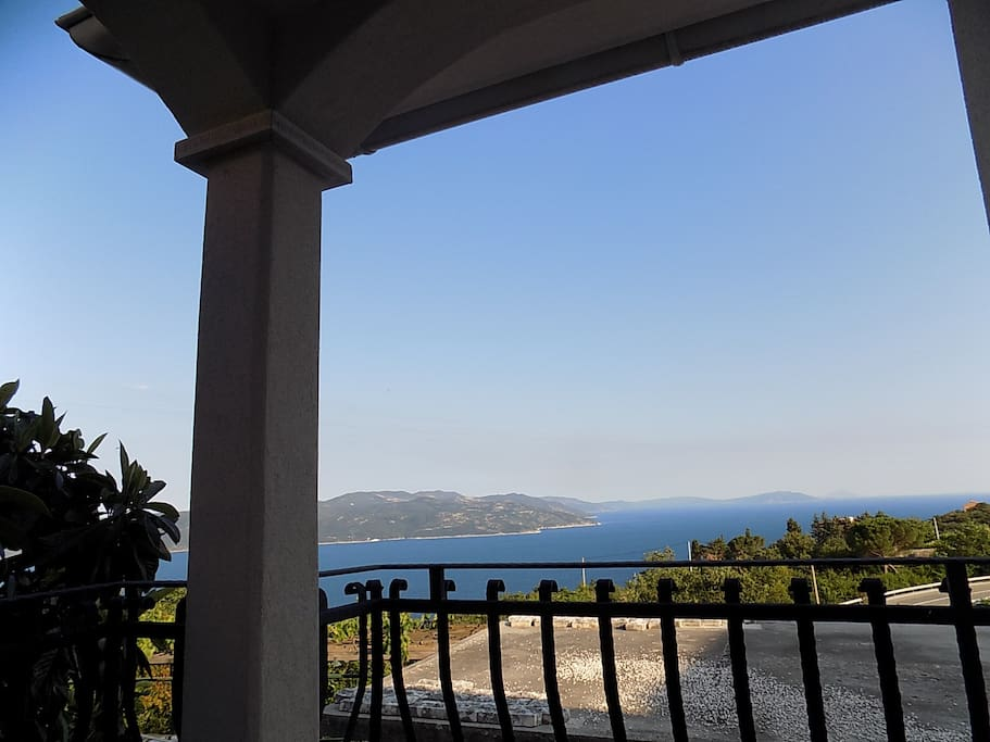 view from balcony of bedroom
