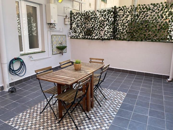 Apartamento con Terraza en la playa de Barcelona