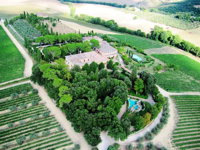 Dimora Storica Villa di Corsano - Monteroni D'arbia - Villa