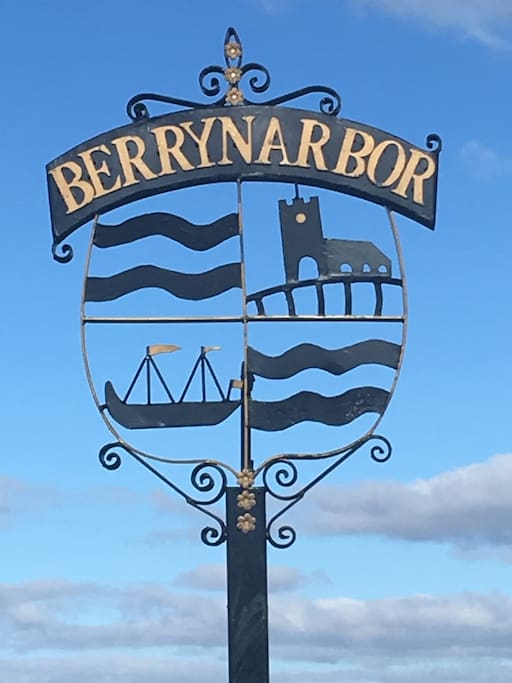 We are proud of our new village sign