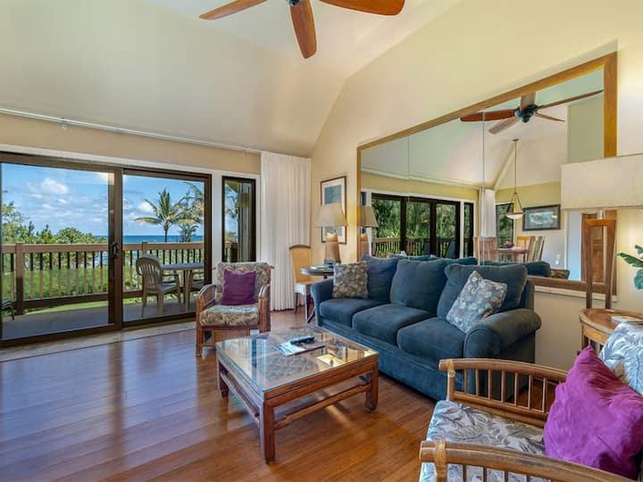 Kauai Paradise w/Kitchen, Ceiling Fans, Lanai, WiFi, Flat Screen+DVD–Kaha Lani 229