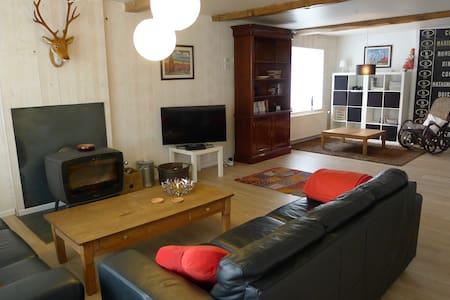 Spacious contemporary holiday house