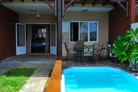 Duplex avec piscine privee - Flic en Flac - Pis