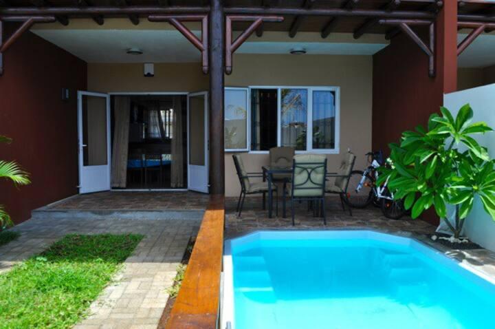 Duplex avec piscine privee