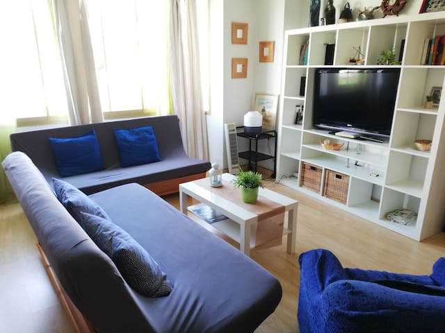 Apartment 90 meters from the beach