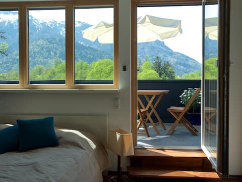 Apartment mit Dachterrasse, Nähe Stadt Salzburg