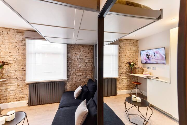 ☆ Cosy & modern studio, few minutes from the tube