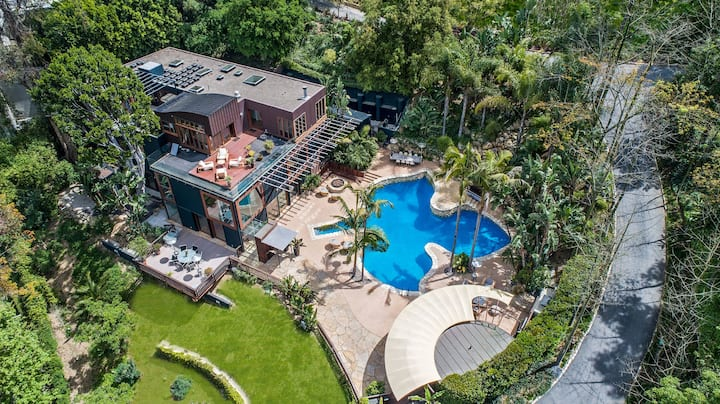 Beverly Hills Compound | Gated | Pool | View | 6B