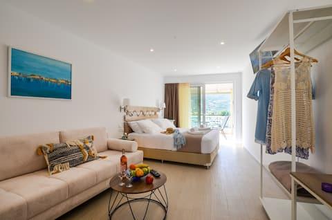 Meltemi Studios - Widok na morze Apartament na drugim piętrze
