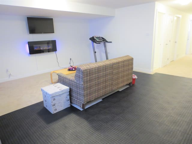 Entire Basement in a New House