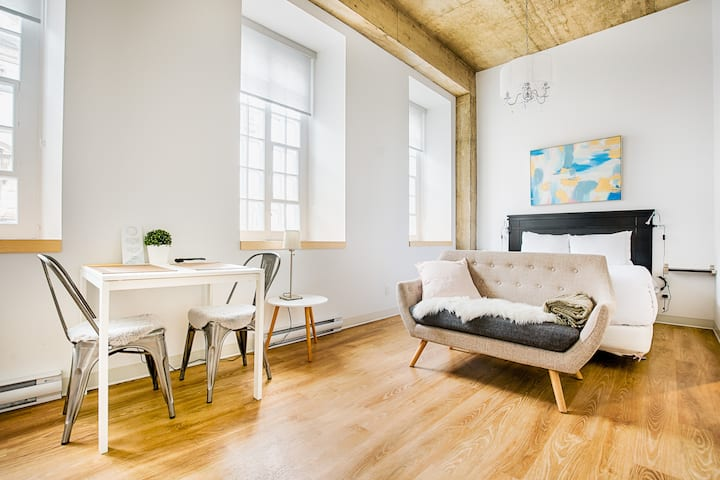 Newly renovated loft in the heart of Quebec