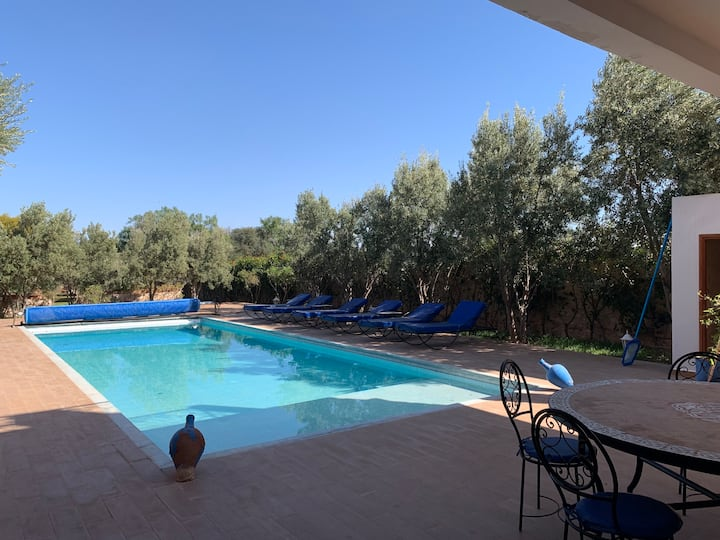 THE VILLA of the 90 Olive trees ( Essaouira ) NEW