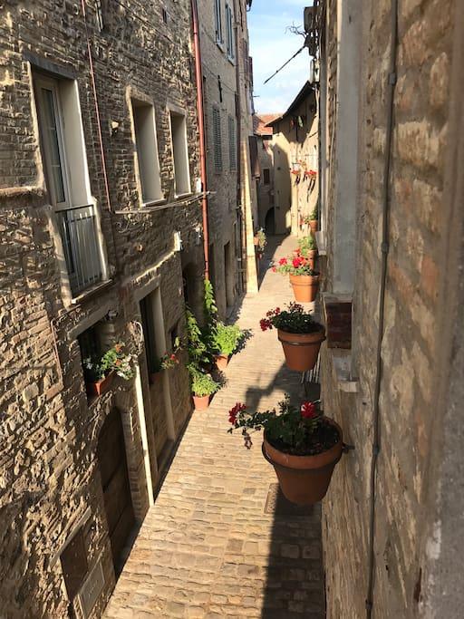 Our street/ il nostro vicolo