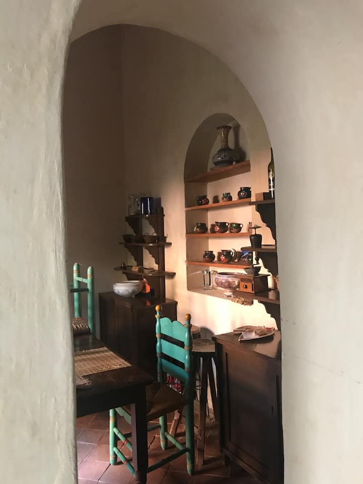 Casa de adobe en las cercanías de Guadalajara, Méx