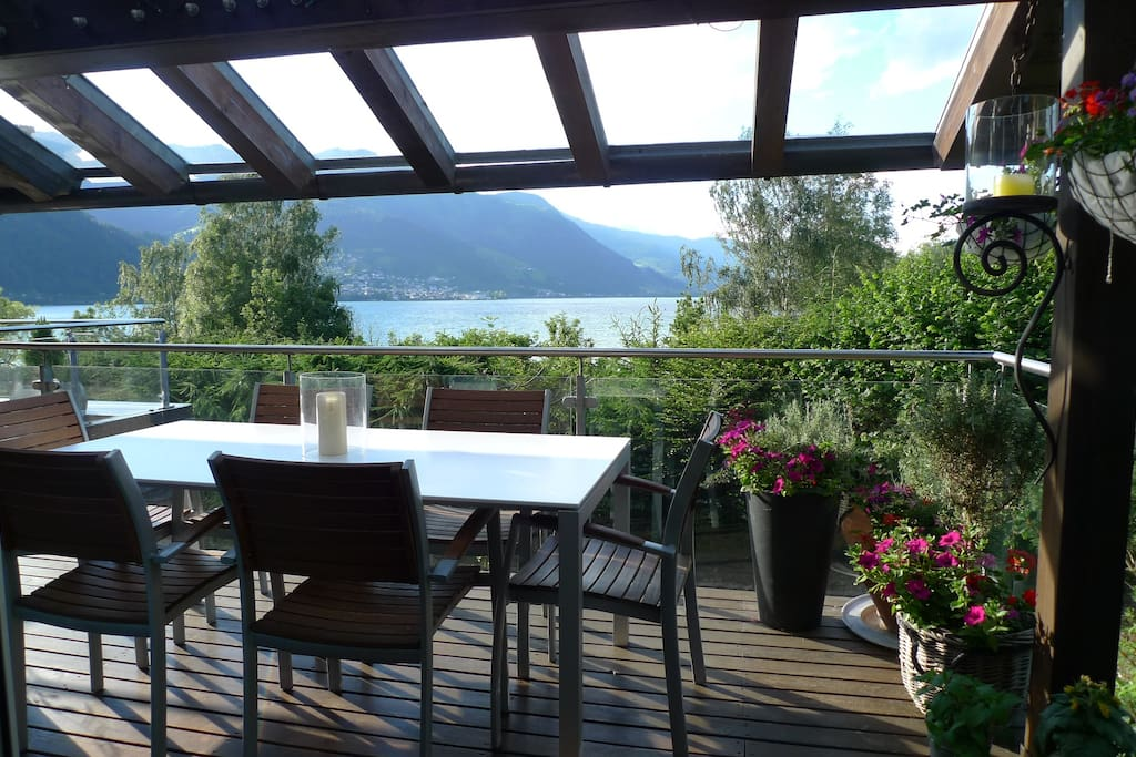 Terrace lake view/Terrasse Seeblick 1