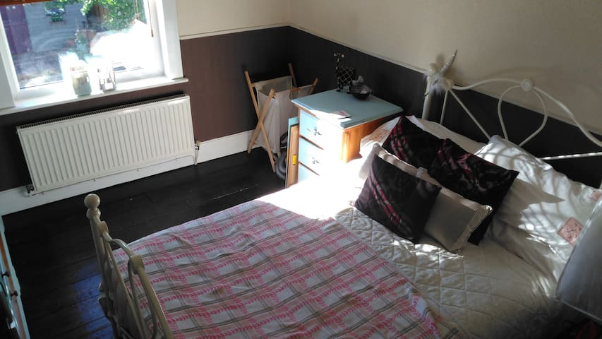 Double Room - close to Newport town centre / M4 - Newport - Huis