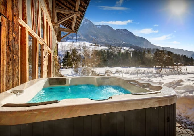 4* Let us make you dinner at this delightful Alpine chalet - OVO Network