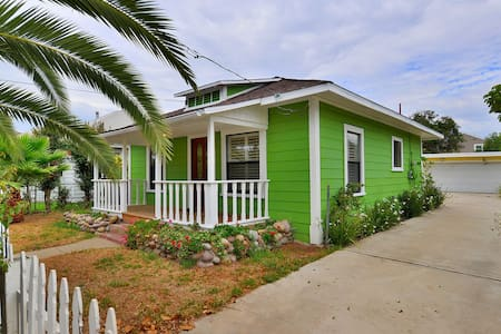 Adorable Cottage, Close to Everything - Chula Vista - Talo