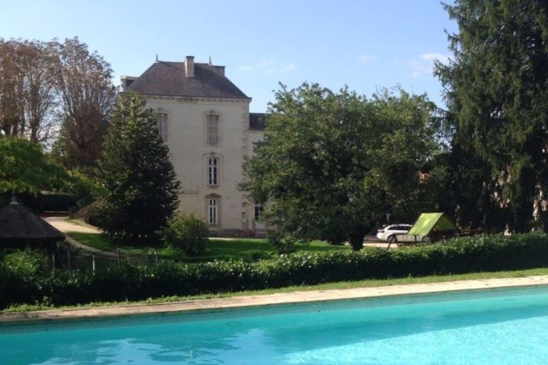 Petit Chateau in the Heart of Coulonges sur l'Autize