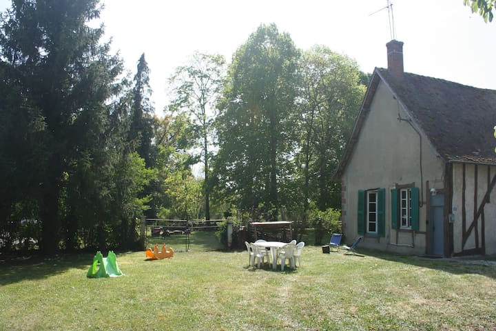 Le P'tit Roy - individual house - 3 rooms - garden - Villeneuve-sur-Allier - Haus