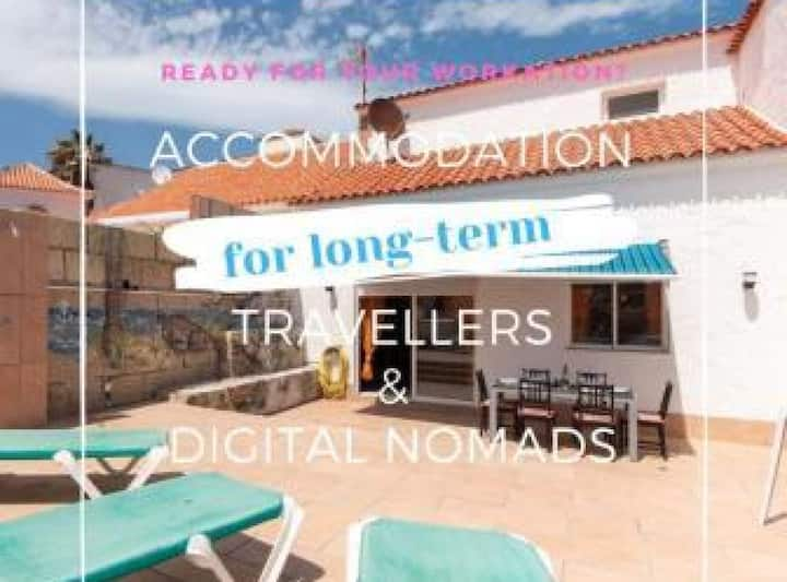 Bahia D: HOMEOFFICE - house with 3 bedrooms and 5 minutes from the beach