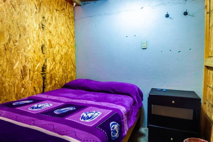 MEXIQUILLO AVENTURA, Dormitorio Rústico, Cama Mat.
