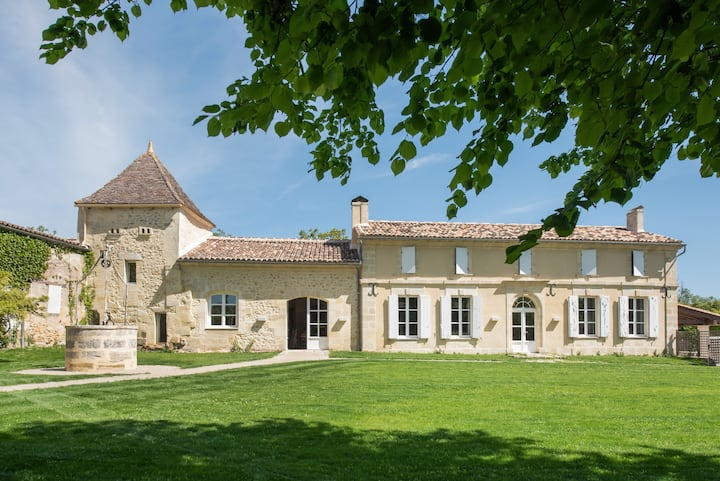 Family house 15min from St Emilion