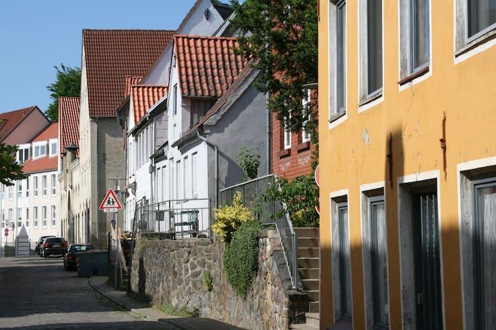 """Ferienwohnung """"Stadtlandschaften"""" - Flensburg - Apartment"""