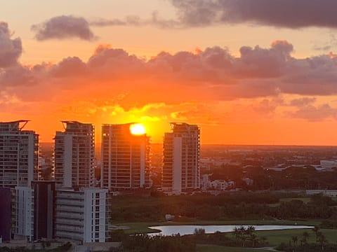 Great location, Cozy, Ocean view,  Puerto Cancun