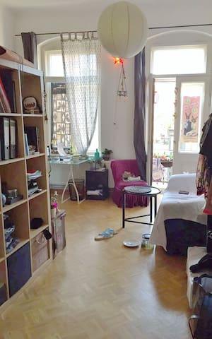 Möbliertes Zimmer in WG mit super schöner Lage - Drezno - Apartament