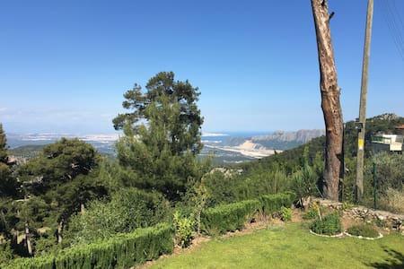 Panoramik villa dağ,orman içinde JW - Konyaaltı
