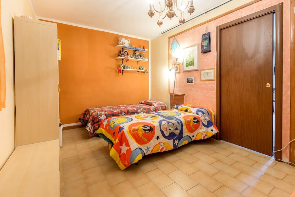 Stanza privata con bagno case in affitto a pozzale - Disposizione stanze casa ...