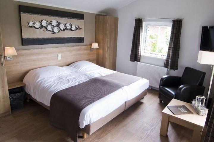 Luxe hotelchalet op de Veluwe