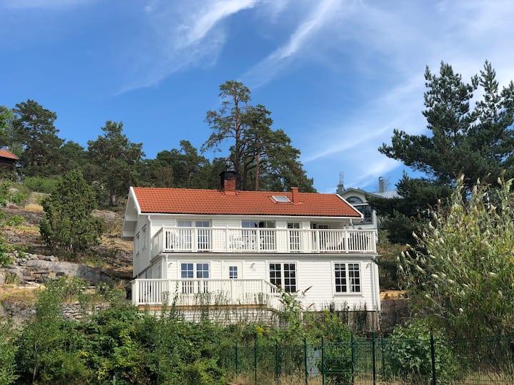 Swedish villa near the sea
