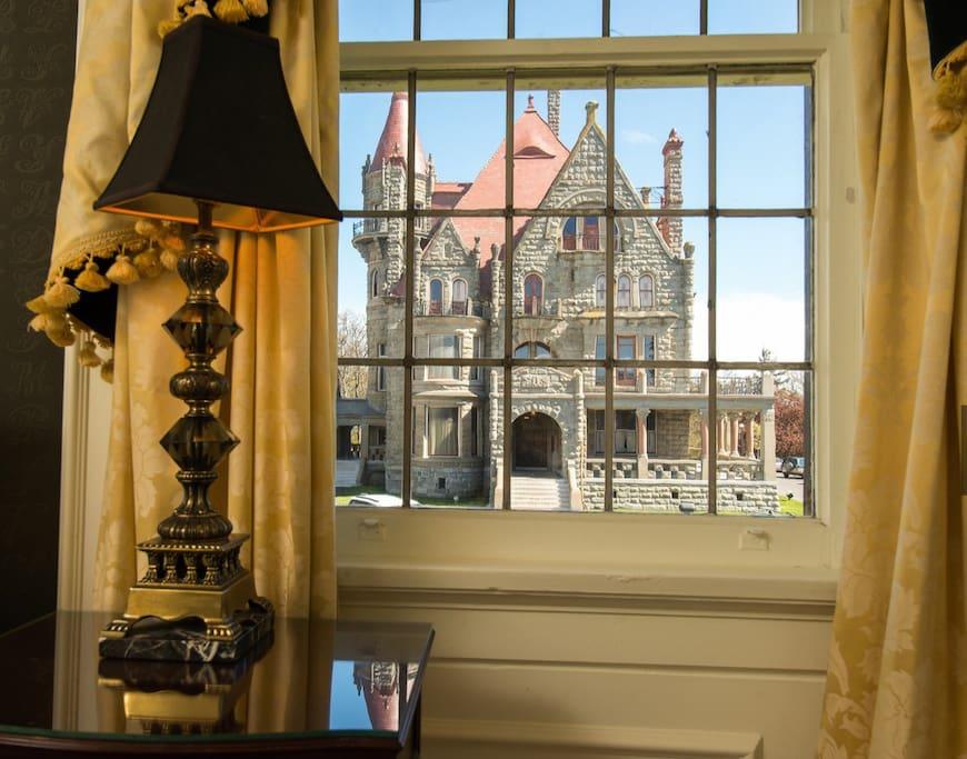 Premium castle view